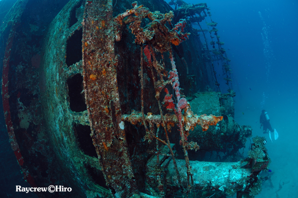 Wreck dive in Majuro
